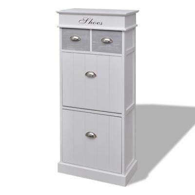 New Wooden Cabinet Shoe Storage Home Organizer Furniture With Top Drawers