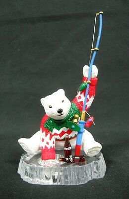 Coca Cola Cavanagh Collector 1994 Polar Bear Christmas Ornament - NIB -LMT 1,994