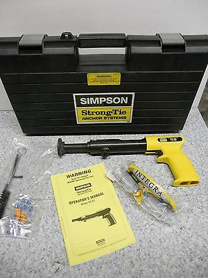 Simpson Strong Tie PT-22 Powder Acuated Tool  Kit NEW in Box