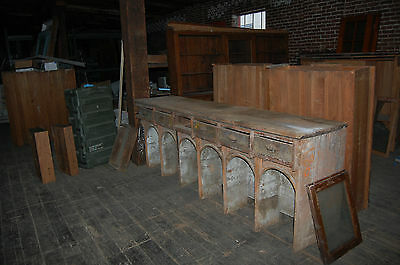 Antique  General Store Counter , Kitchen Island Architectural Salvage