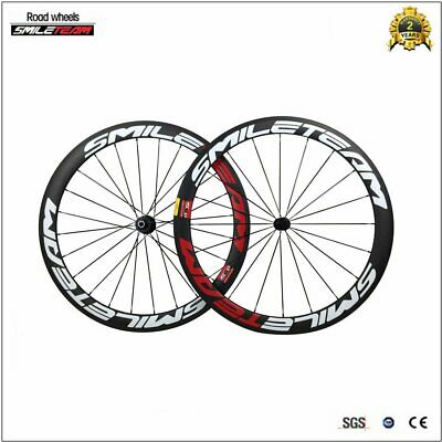 50mm carbon bicycle wheels for road bike Racing wheelset 700c clincher R36 Hub