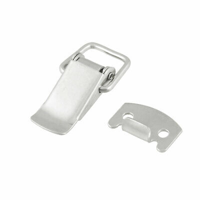 Hardware Tool Stainless Steel Spring Loaded Toggle Latch Catch Hasp for  Cabinet