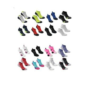 Adult Karrimor Running Padded Trainer Socks Ladies UK Size 4-8 Mens 7-11 11-14