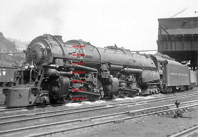 Norfolk & Western RR 2-6-6-4 #1207 5x7 photo