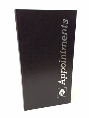 3 Column Black Appointment Book - Salons, Spas, Health Clubs, Clinics, Doctors