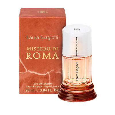 Laura Biagiotti Mistero Di Roma for women Eau de toilette EDT 25ml BNIB