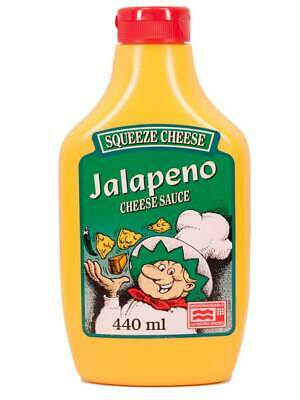 Jalapeno Squeeze Cheese, Käse-Sauce (0.91 Euro pro 100ml)