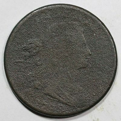 1798 S-181 R-3 Draped Bust Large Cent Coin 1c