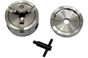 Brake Lathe Quick Chuck Adapter / Backing Plate / Key fits Ammco Etc.