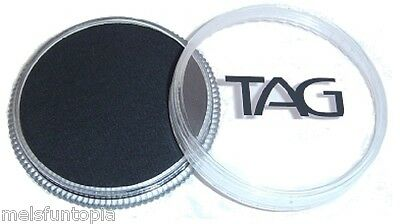 TAG Body Art 32g Pot Regular Black Professional Face and Body Paint - Make up
