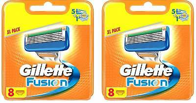 Gillette Fusion Power 16 Original Rasierklingen  2 x 8 er Pack NEU Model