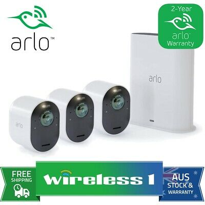Netgear VMS3230 Arlo Smart Home Security System - 2 HD Wire-free Cameras VMS3230