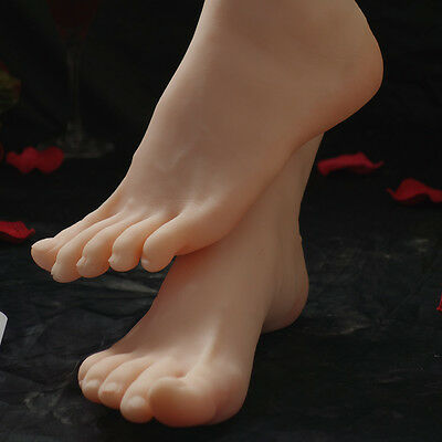 lifesize soft silicone foot mannequin foot fetish love 4 jewelry sock display