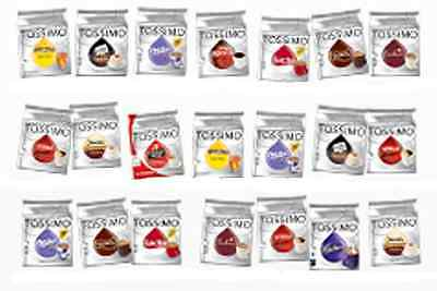 Tassimo T Discs Pods, Capsules - Tea, Coffee or Chocolate