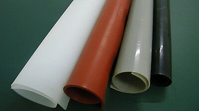 "500X500MM (20""X20"") Silicone Rubber Sheet Plate Mat High Temp Commercial Grade"