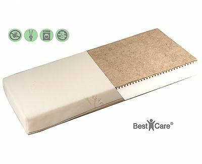 BestCare® Organic Natural Baby Cot Mattress 2-Sided (Baby/Toddler) chemical-free