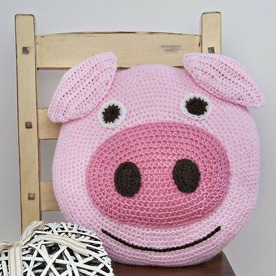 Twilleys - Crochet Kit - Pig Cushion - Complete Kit - 2898/4024