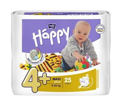 Bella Baby Happy - Größe 4+ Maxi Plus (9-20 kg)