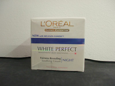 Loreal White Perfect, Fairness Revealing Soothing Night Cream X 50Ml