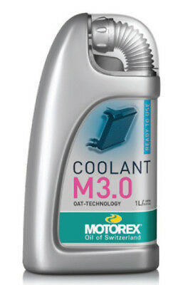 Motorex Mx 1L Motocross Dirt Bike Motorbike M3.0 1 Litre Anti-Freeze Coolant