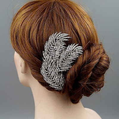Bridal Hair Comb Crystal Headpiece Hair Clip Hair Pin Wedding Accessories 07250