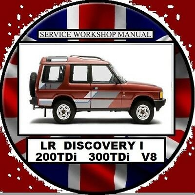 land rover discovery 1 1995-2000 200tdi 300tdi v8 workshop repair manual