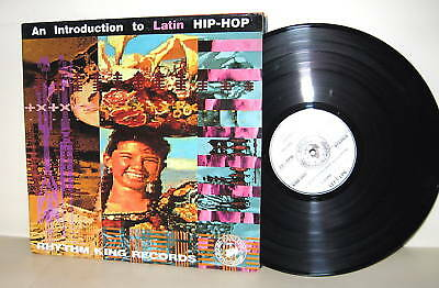 VARIOUS - An Introduction To Latin Hip-Hop UK '88 LP Vinyl