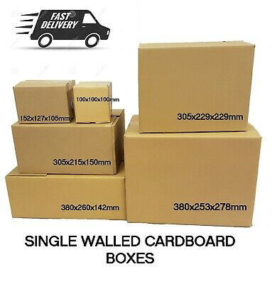 Various CARDBOARD BOXES Single Walled *HIGH QUALITY* For Storage or Removal