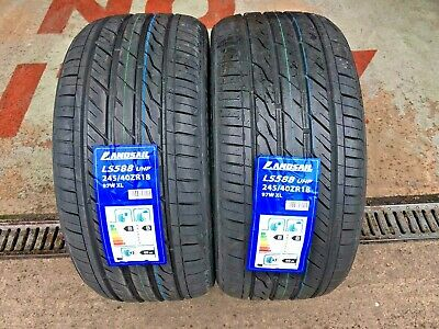 X2 245 40 18 245/40Zr18 97W Xl Landsail New Tyres With Great B,b Ratings Bargain