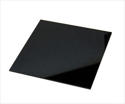 Black Acrylic Sheet Cut to Size, Plastic Sheet, Black Acrylic Perspex 5mm Thick