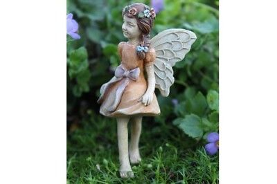"3"" My Fairy Gardens Mini Figure Pick - Kaylee - Walking Miniature Figurine Decor"