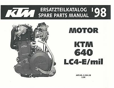 Vintage ktm 500cc engine parts