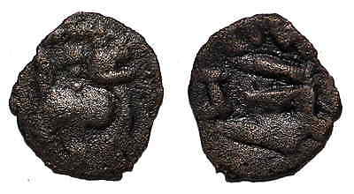 (Z125) Chach AE coin, unknown ruler.
