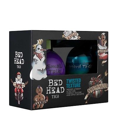 Tigi Bed Head Twisted Texture Gift Set Small Talk And Hard To Get- Free Tracked