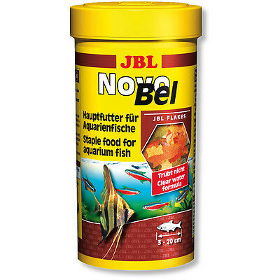 JBL NovoBel 100ml Fish Food Flakes Novo Bel