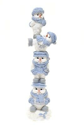 Snow Buddies Figurines- Snowman Buddies Stacker Encore 1999 New