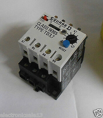 Square D Thermal Overload Relay Td3.7, 3.7-5.5A