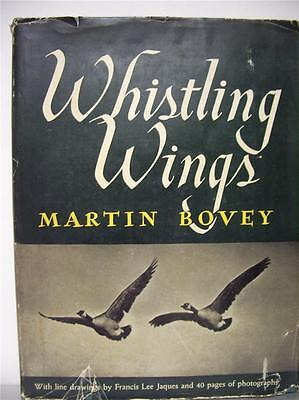 Whistling Wings  Hunting book by Martin Bovey  signed by the author  Hardback