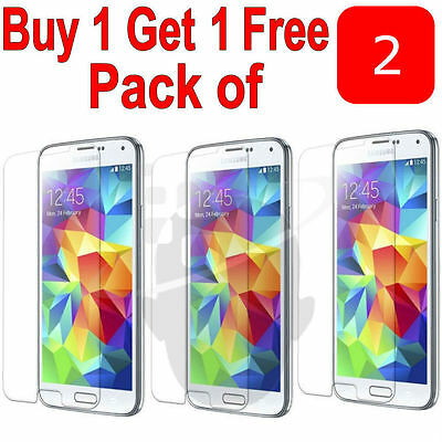 Genuine Ultra Hard Tempered Glass Screen Protector Saver for Samsung Galaxy S6