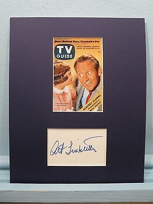 "Art Linkletter - ""Kids Say the Darnest Things""and his autograph"