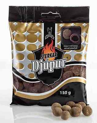 Strong Liquorish Candy with chocolate and Turkish pepper 150g - Made in Iceland