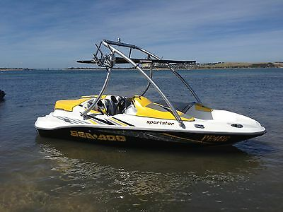 """Wakeboard boat  tower """" Jaws"""" By Wanted Wake, Melbourne based Australian owned!"""