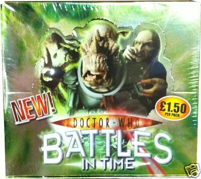 Doctor Who Battles in Time Invader Single Booster Pack - Sealed box of 32