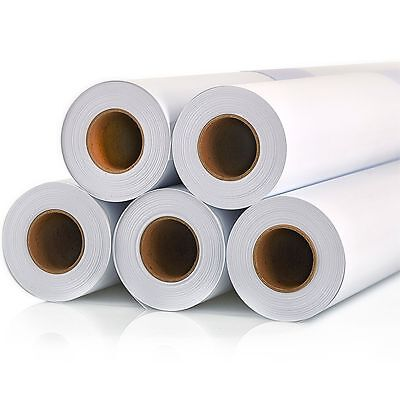 Canon A0 Wide Format Plotter Paper 914mm X 50m Bond 80gsm - 4 Rolls Pack 9047195
