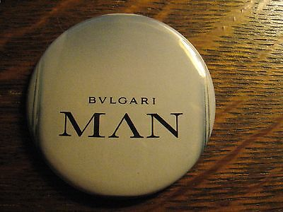 Bulgari Man Pocket Mirror - Repurposed Magazine Advertisement Lipstick Mirror