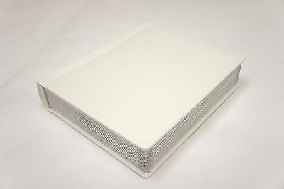 Professional 8x10 ivory Silver Edged Photo Album -20 Photo (Engraving Available)