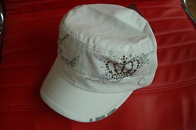 HRC Hard Rock Cafe Berlin White Rock Couture Hat NWT XL Fotos