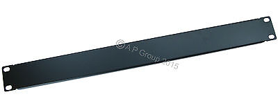 "1U 19"" RACK MOUNT Blanking Plate Patch PANEL Rack Mounting Blank for Server Case"