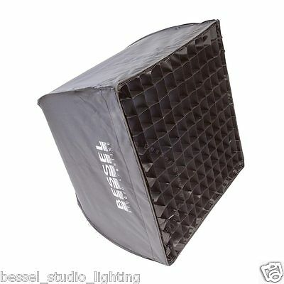 Bessel 50cm x 50cm Softbox+diffusers & grid Elinchrom EL-Fit Quick & Easy PopUp