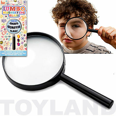 Jumbo Magnifying Glass Traditional Toy Boys Girls Birthday Party Bag Filler